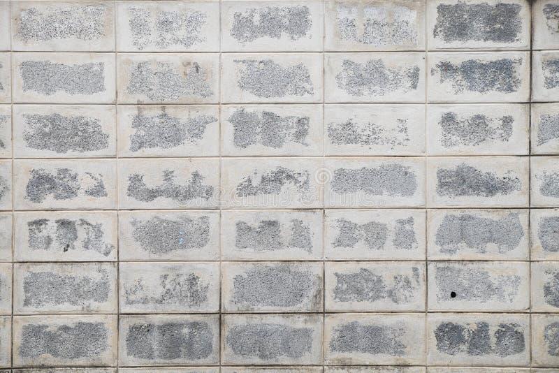 Ατελής τοίχος τσιμεντένιων ογκόλιθων στοκ εικόνα με δικαίωμα ελεύθερης χρήσης