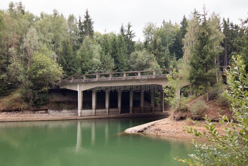 Ατελείς γέφυρες εθνικών οδών, Τσεχία στοκ εικόνες
