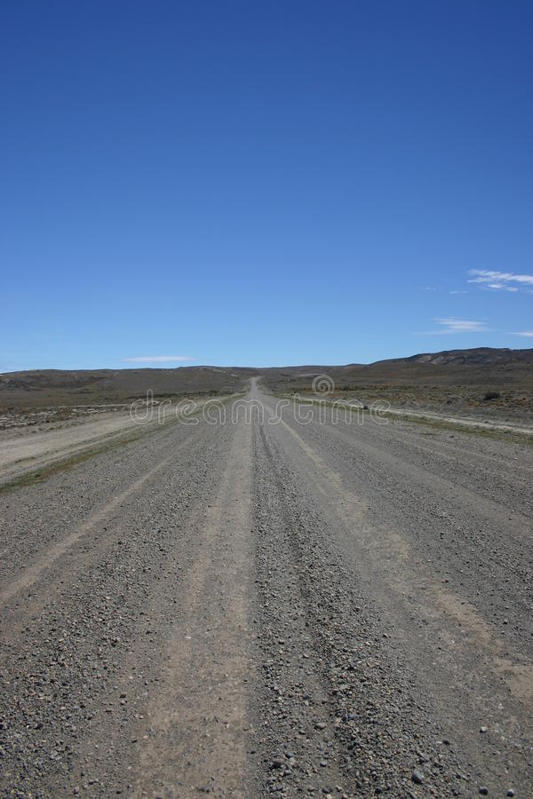 Ατελείωτος ευθύς δρόμος Αργεντινή στοκ φωτογραφία με δικαίωμα ελεύθερης χρήσης