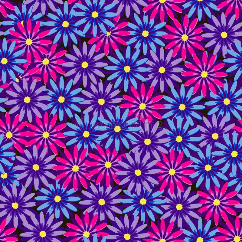 ατελείωτος floral ανασκόπηση ελεύθερη απεικόνιση δικαιώματος