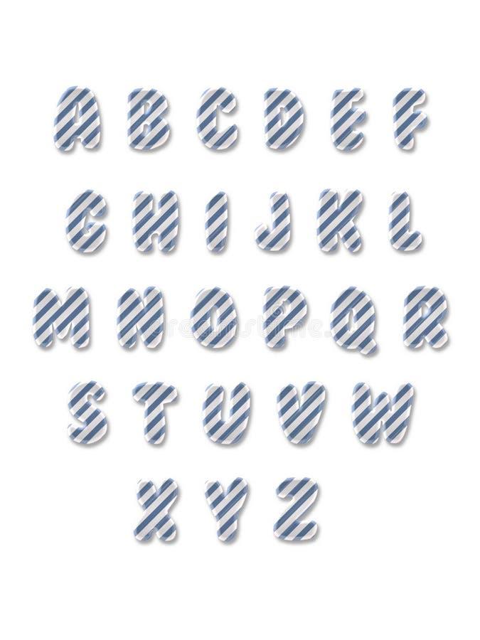 λατινικά γράμματα s της Φανή παιδιών αλφάβητου στοκ φωτογραφίες