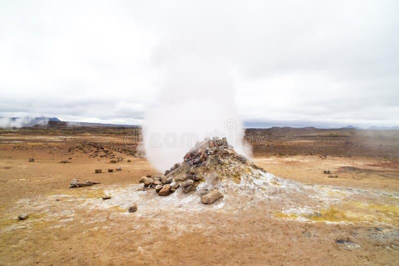 Ατμίδα, Ισλανδία στοκ εικόνες