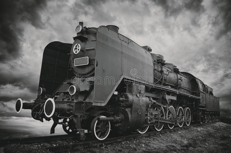 Ατμομηχανή ατμού στοκ φωτογραφία με δικαίωμα ελεύθερης χρήσης