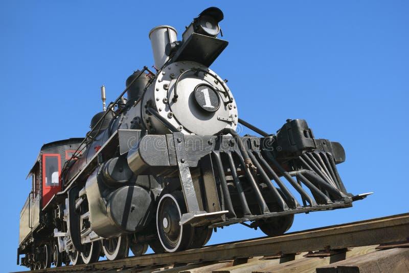 Ατμομηχανή σιδηροδρόμου Ol στοκ εικόνες