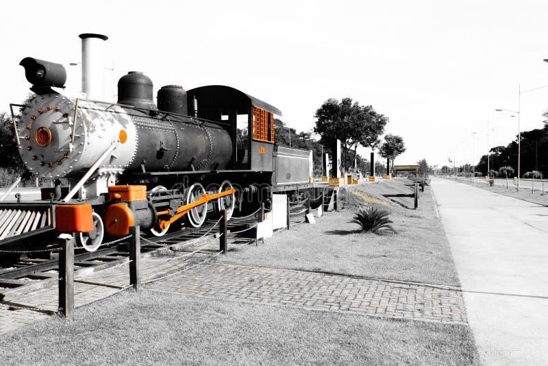 ατμομηχανή στο Πόρτο Velho, Rondônia, Βραζιλία στοκ φωτογραφία με δικαίωμα ελεύθερης χρήσης