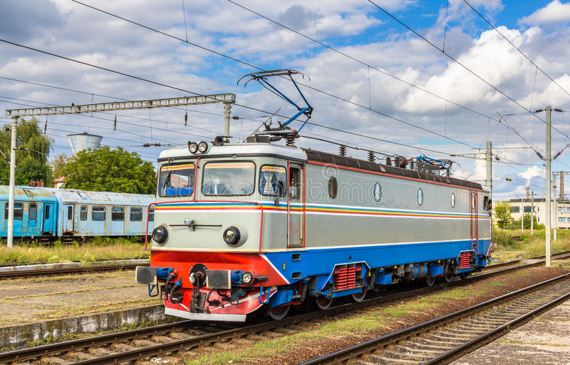 Ατμομηχανή στο σταθμό Cluj-Napoca στοκ φωτογραφίες
