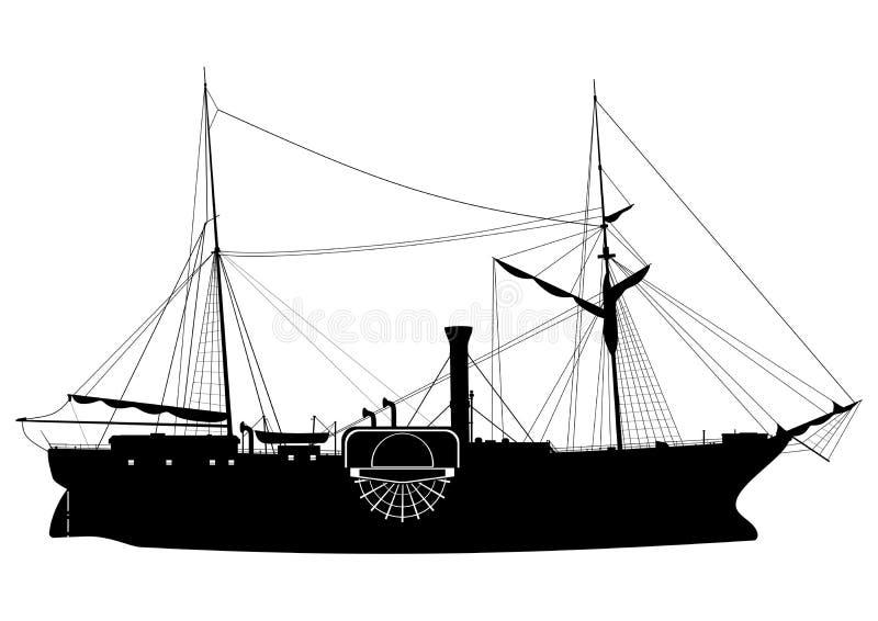 ατμόπλοιο ελεύθερη απεικόνιση δικαιώματος