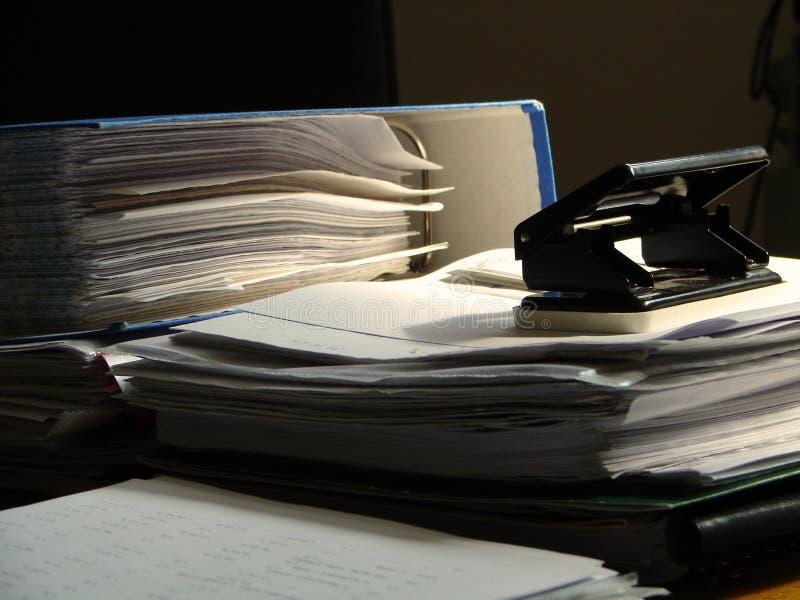 ατμόσφαιρα αργά - γραφείο νύχτας στοκ φωτογραφία με δικαίωμα ελεύθερης χρήσης