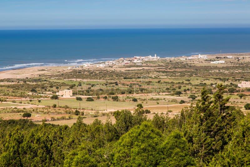 Ατλαντική ακτή, Μαρόκο στοκ εικόνες με δικαίωμα ελεύθερης χρήσης