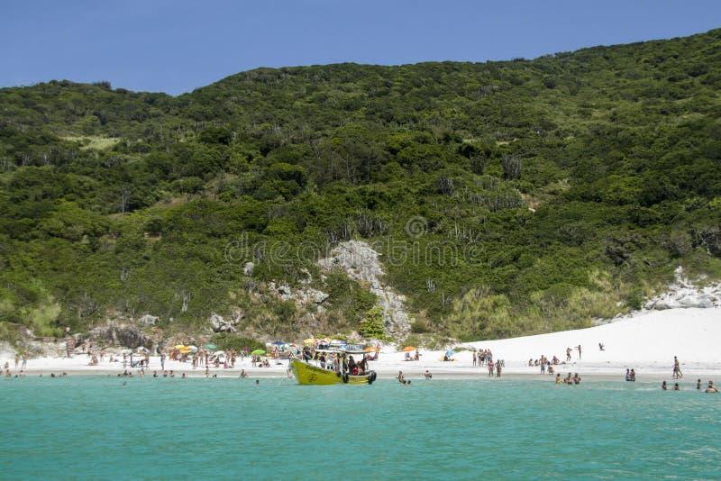 Ατλαντική ακτή στη Βραζιλία στοκ εικόνα