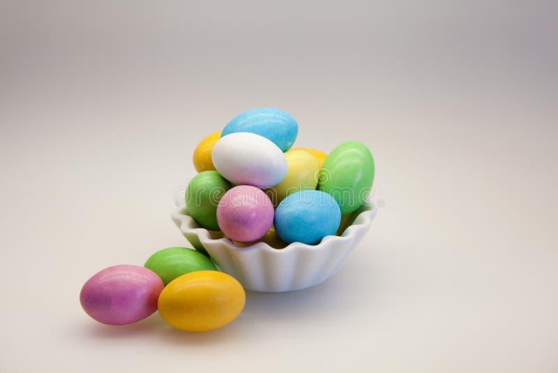Αυγά ζάχαρης στοκ εικόνα