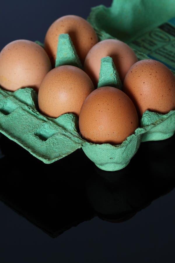 αυγά κιβωτίων στοκ φωτογραφία με δικαίωμα ελεύθερης χρήσης