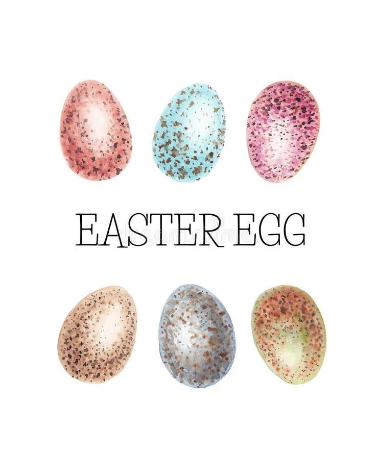 Αυγά κοτόπουλου Πάσχας m απεικόνιση αποθεμάτων