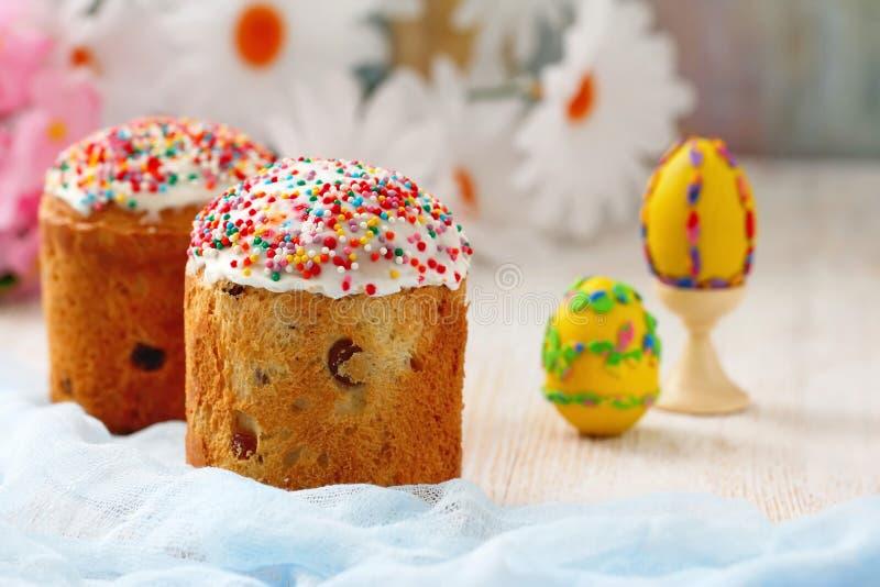 αυγά Πάσχας κέικ στοκ εικόνα με δικαίωμα ελεύθερης χρήσης