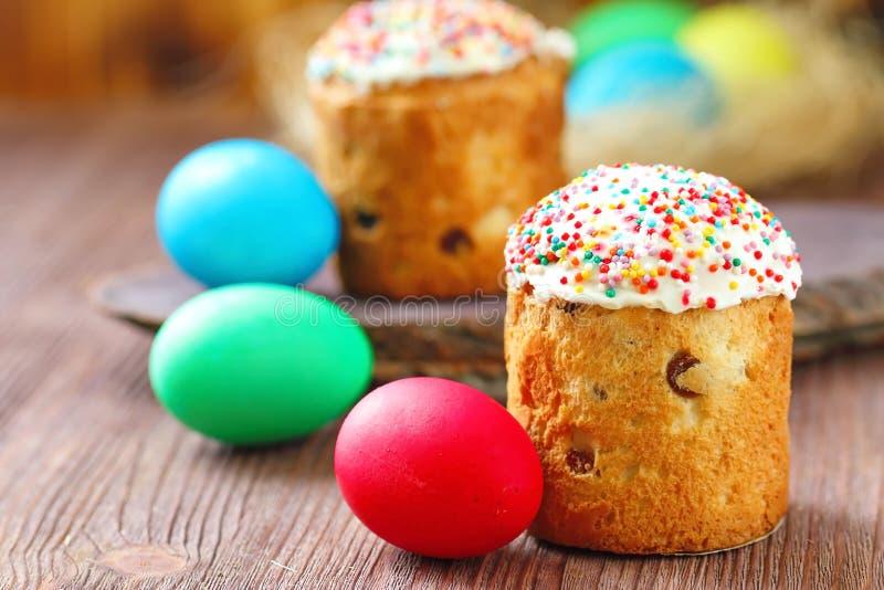 αυγά Πάσχας κέικ στοκ φωτογραφία με δικαίωμα ελεύθερης χρήσης