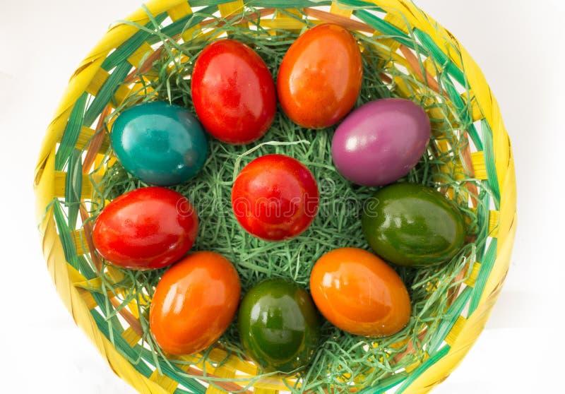 αυγά Πάσχας που απομονών&omicro στοκ εικόνες με δικαίωμα ελεύθερης χρήσης