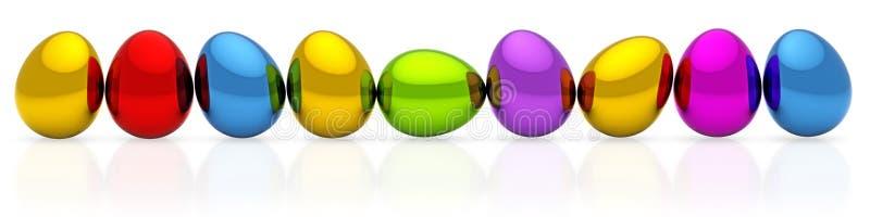 Αυγά Πάσχας διανυσματική απεικόνιση