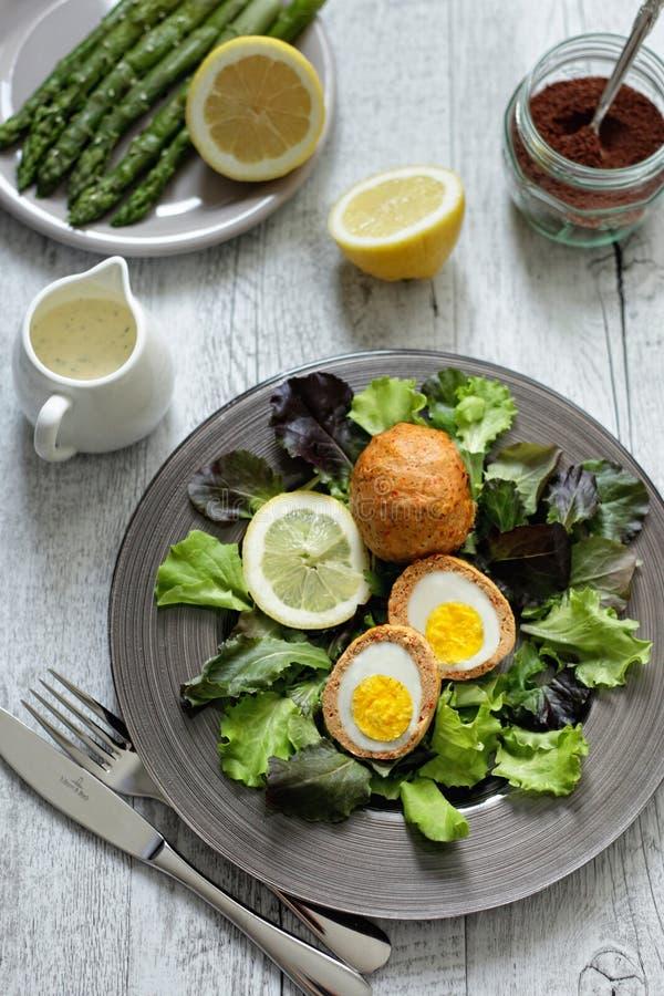 αυγά σκωτσέζικα στοκ εικόνα με δικαίωμα ελεύθερης χρήσης