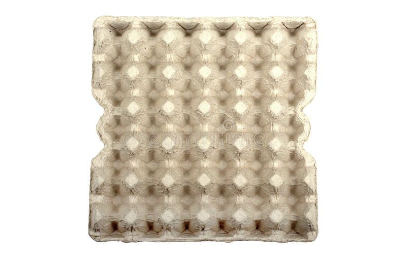 αυγά χαρτονιού κενά στοκ εικόνα με δικαίωμα ελεύθερης χρήσης