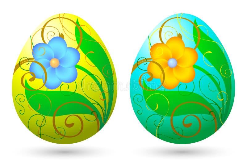 αυγά 1 Πάσχας απεικόνιση αποθεμάτων