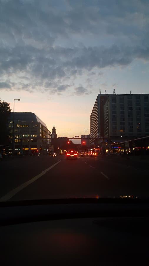 Αυγή του Βερολίνου στοκ εικόνα