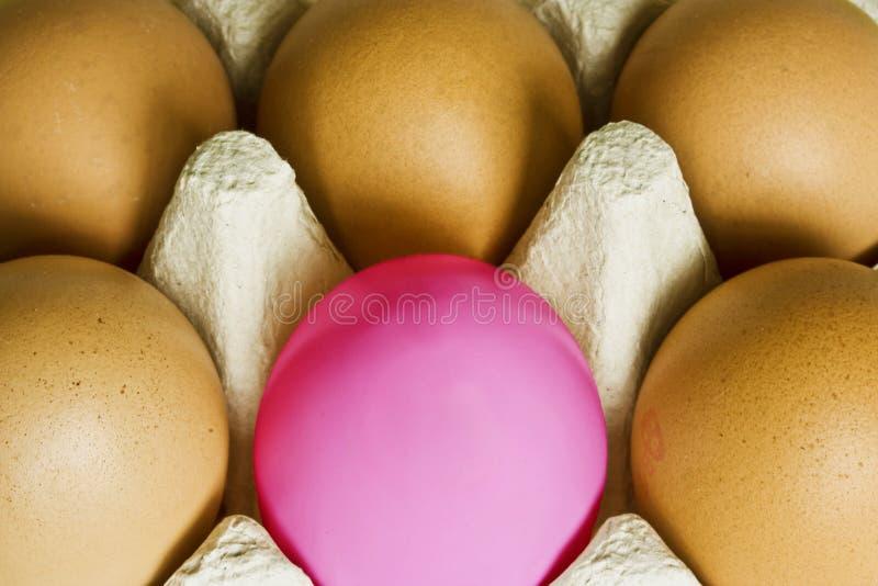 Download αυγό ένα ροζ στοκ εικόνα. εικόνα από διαφορετικός, χρωματισμένος - 13189131