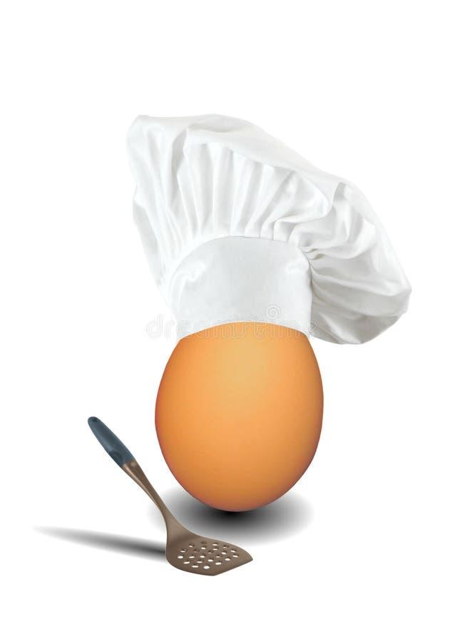 αυγό αρχιμαγείρων στοκ φωτογραφίες