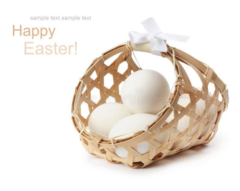 αυγό καλαθιών στοκ φωτογραφία με δικαίωμα ελεύθερης χρήσης