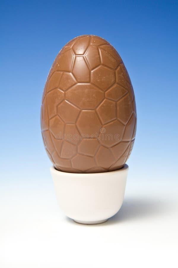 αυγό Πάσχας σοκολάτας στοκ εικόνες με δικαίωμα ελεύθερης χρήσης