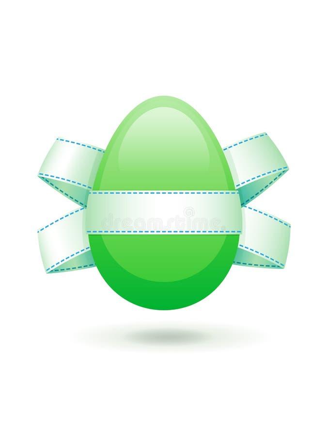 αυγό Πάσχας τόξων στοκ εικόνα με δικαίωμα ελεύθερης χρήσης