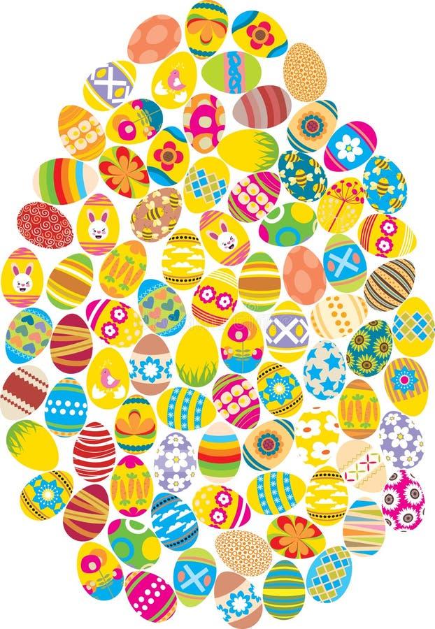 αυγό Πάσχας ελεύθερη απεικόνιση δικαιώματος