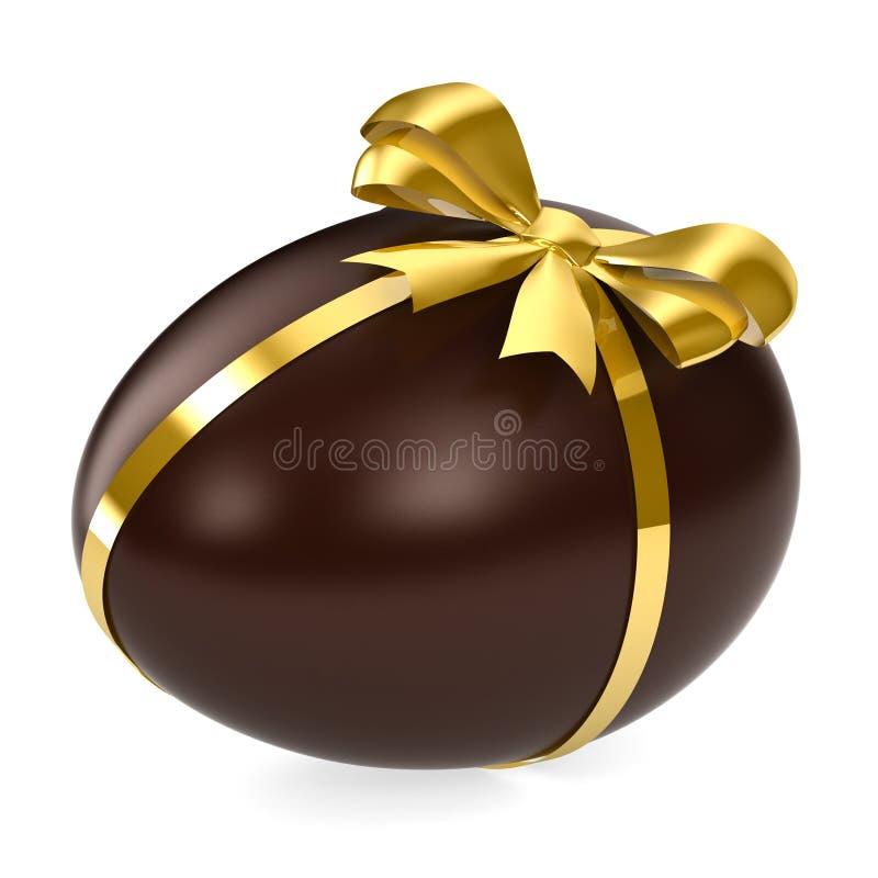 αυγό σοκολάτας διανυσματική απεικόνιση