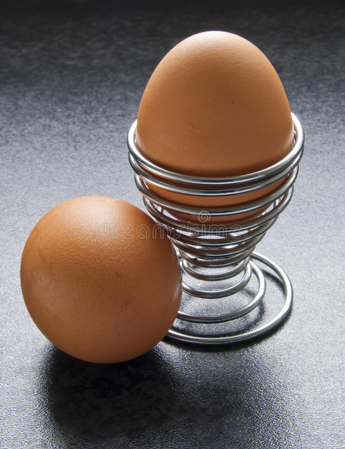 αυγό φλυτζανιών στοκ φωτογραφίες
