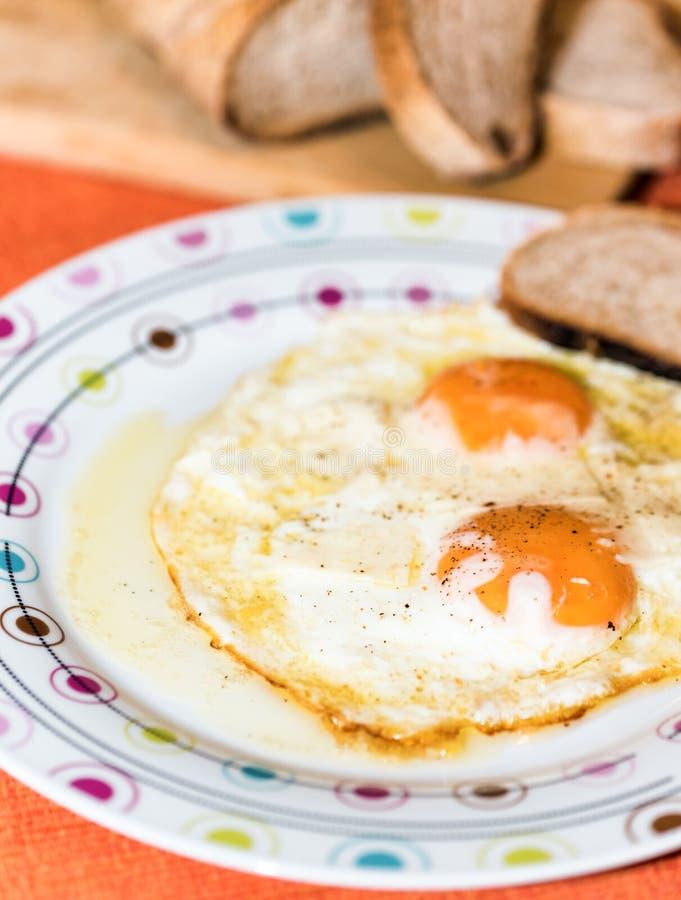 Αυγό bullseye στοκ εικόνες με δικαίωμα ελεύθερης χρήσης