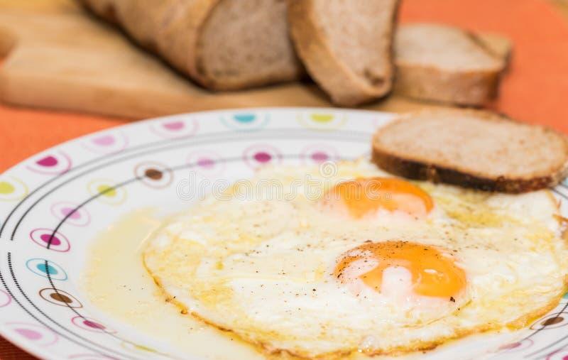 Αυγό bullseye στοκ εικόνες