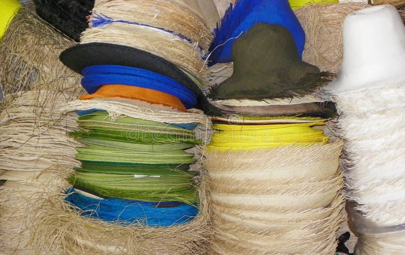Αυθεντικά καπέλα του Παναμά, Ισημερινός στοκ εικόνες με δικαίωμα ελεύθερης χρήσης