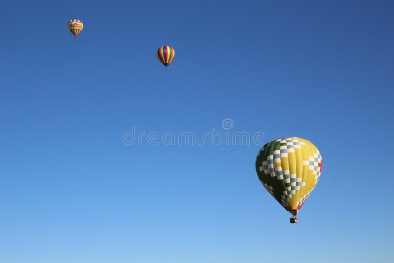 Αυλάκωμα μπαλονιών στοκ εικόνα