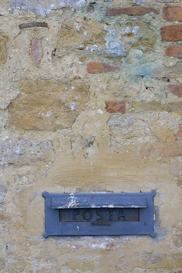 αυλάκωση ταχυδρομείο&upsilon στοκ φωτογραφία με δικαίωμα ελεύθερης χρήσης