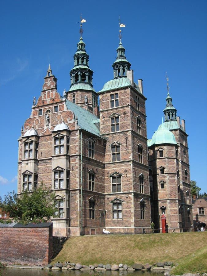 Αυλάκωση Rosenborg (Castle), Κοπεγχάγη, Δανία στοκ εικόνες με δικαίωμα ελεύθερης χρήσης