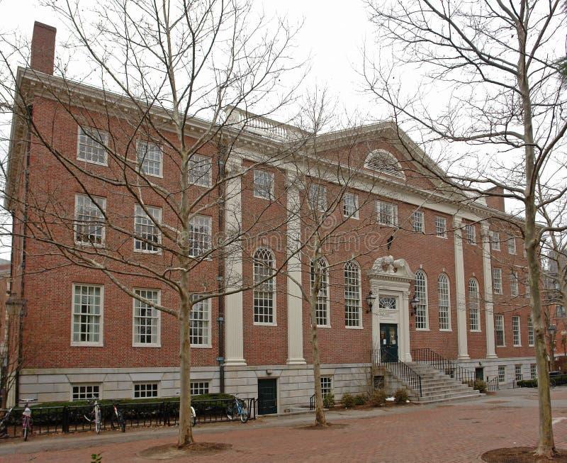 Αυλή του Χάρβαρντ στο χειμώνα στοκ φωτογραφία με δικαίωμα ελεύθερης χρήσης