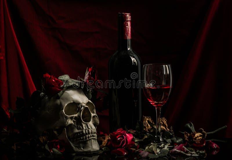 Αυξήθηκε κρασί στοκ φωτογραφία