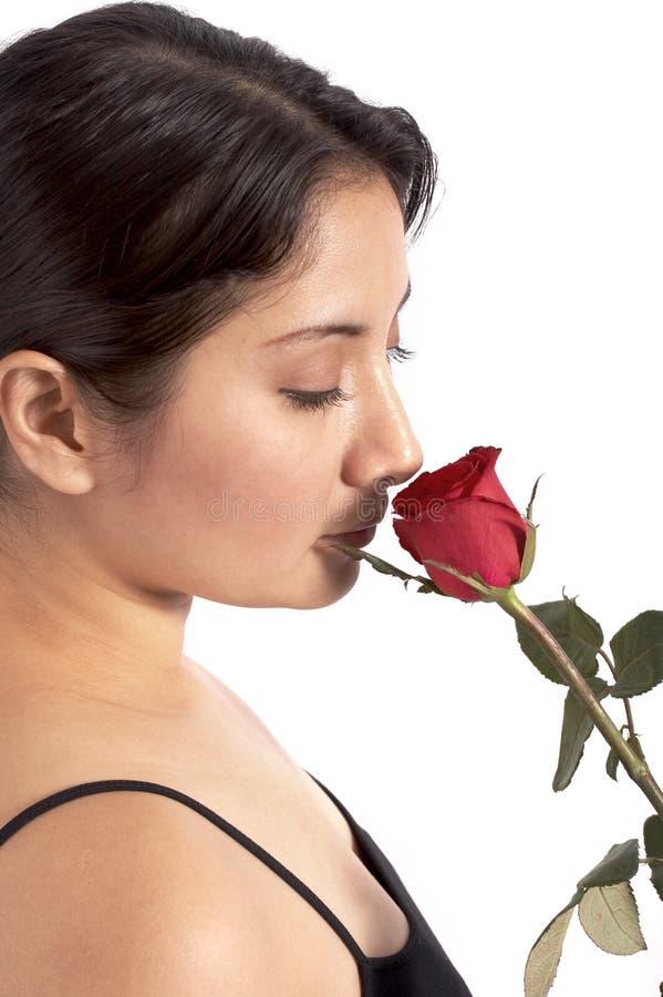 αυξήθηκε νεολαίες γυναικών στοκ εικόνες με δικαίωμα ελεύθερης χρήσης