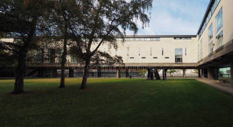 Αυξημένο κτήριο ικανότητας στο Καίμπριτζ στοκ εικόνες