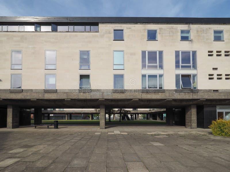 Αυξημένο κτήριο ικανότητας στο Καίμπριτζ στοκ φωτογραφία με δικαίωμα ελεύθερης χρήσης