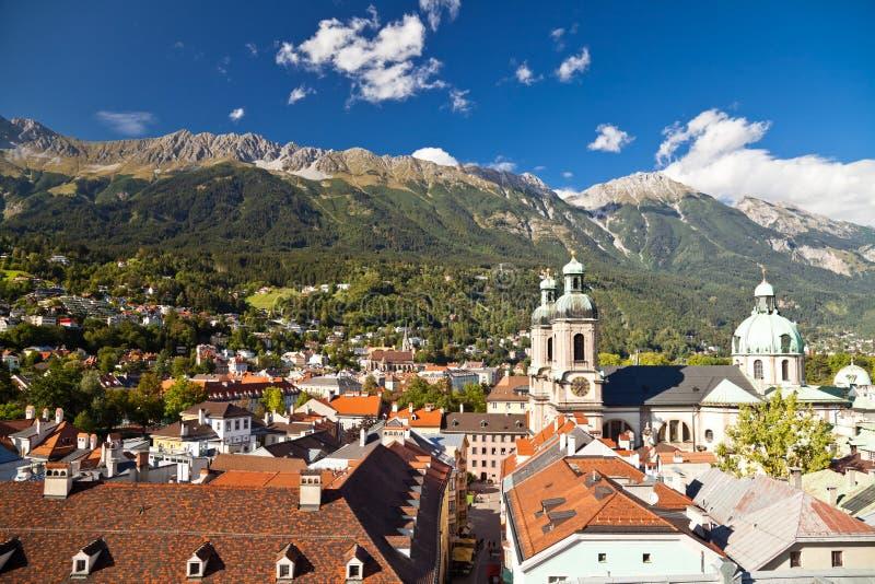 Αυστρία Ίνσμπρουκ στοκ φωτογραφία με δικαίωμα ελεύθερης χρήσης