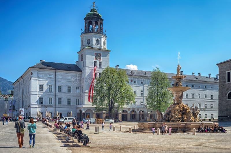 Αυστρία Σάλτζμπουργκ στοκ φωτογραφία