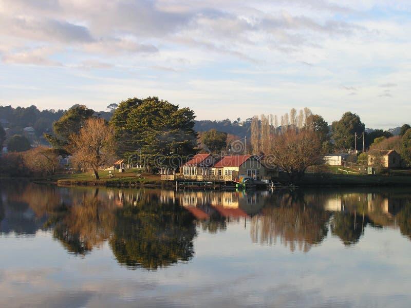 Αυστραλία boathouse daylesford Βικτώρια στοκ φωτογραφία