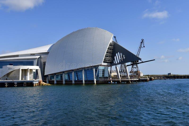 Αυστραλία, WA, Περθ, θαλάσσιο μουσείο στοκ φωτογραφίες