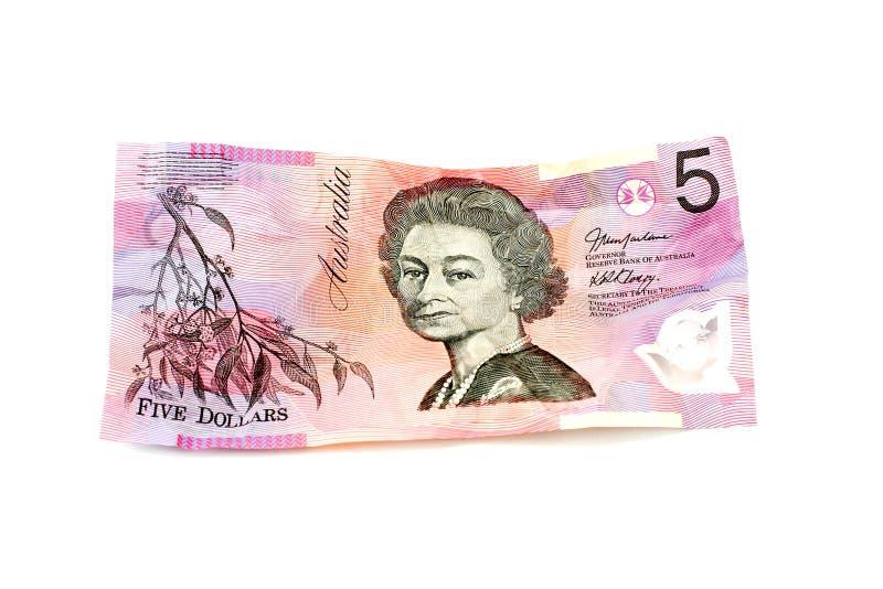 αυστραλιανά δολάρια πέντ&epsi στοκ φωτογραφίες με δικαίωμα ελεύθερης χρήσης