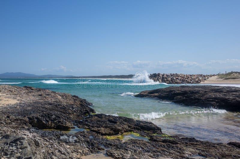 Αυστραλιανή παραλία - Ναμμπούκα στοκ εικόνες